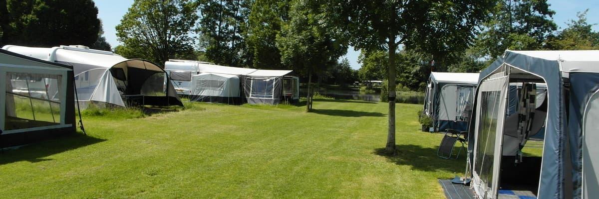 Camping in toeristisch gedeelte van Oost-Gelderland