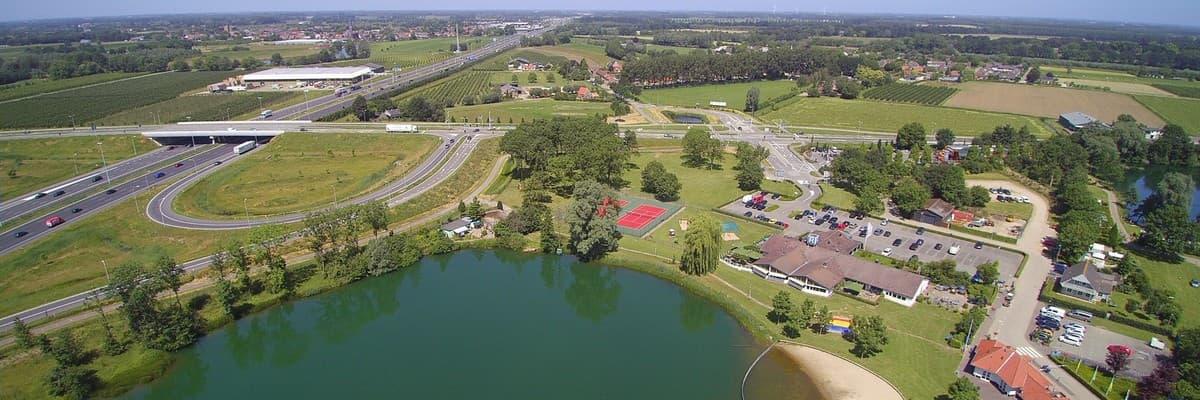 recreatiepark met chalet en bungalow ontwikkelingsmogelijkheden in Noord Limburg.